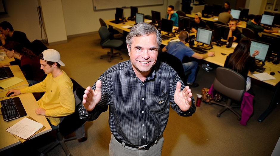 MU associate professor Mark Morgan