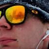 Memorial Union reflected in sunglasses