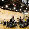 Mizzou Wheelchair Basketball Team plays the University of Wisconsin-Whitewater