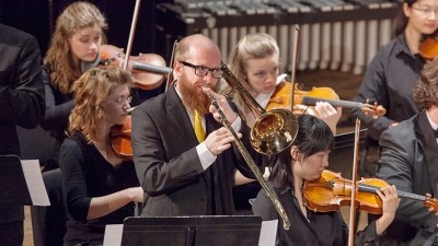 David Witter performs