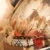Feather cap