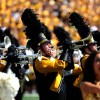 Marching Mizzou and Golden Girls perform pregame.