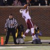 Jones catches tying touchdown pass.