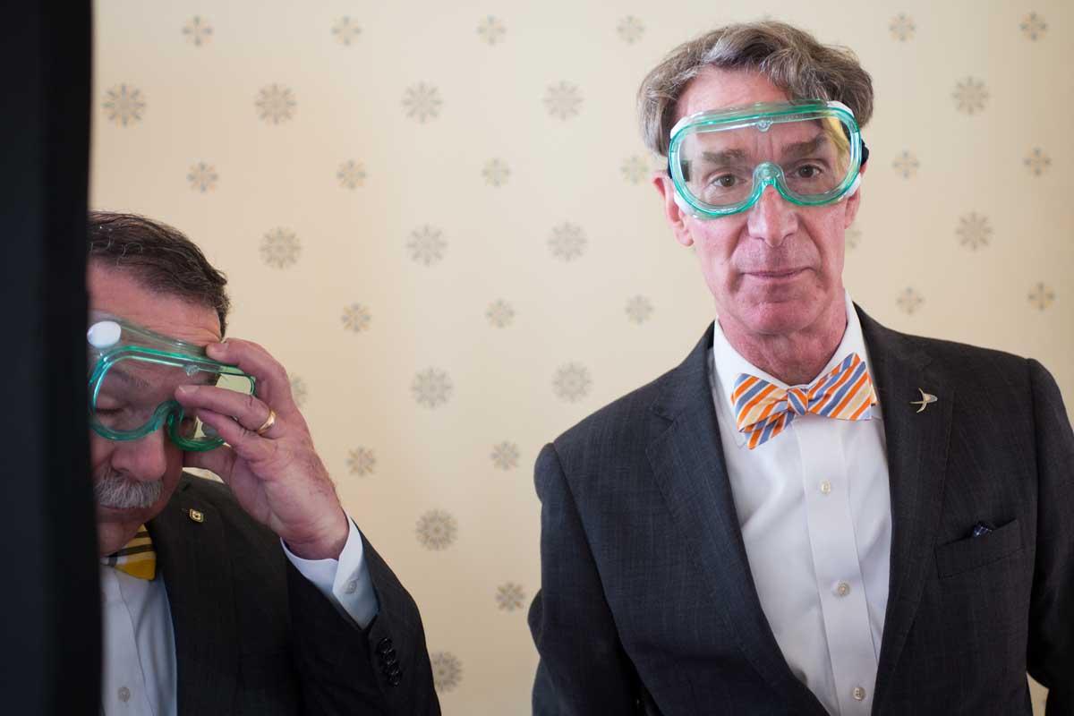 Bill Nye, Bowen Loftin