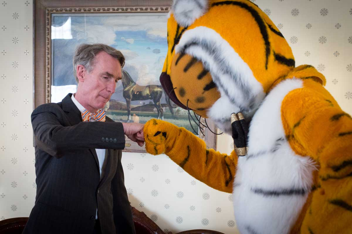 Bill Nye, Truman the Tiger