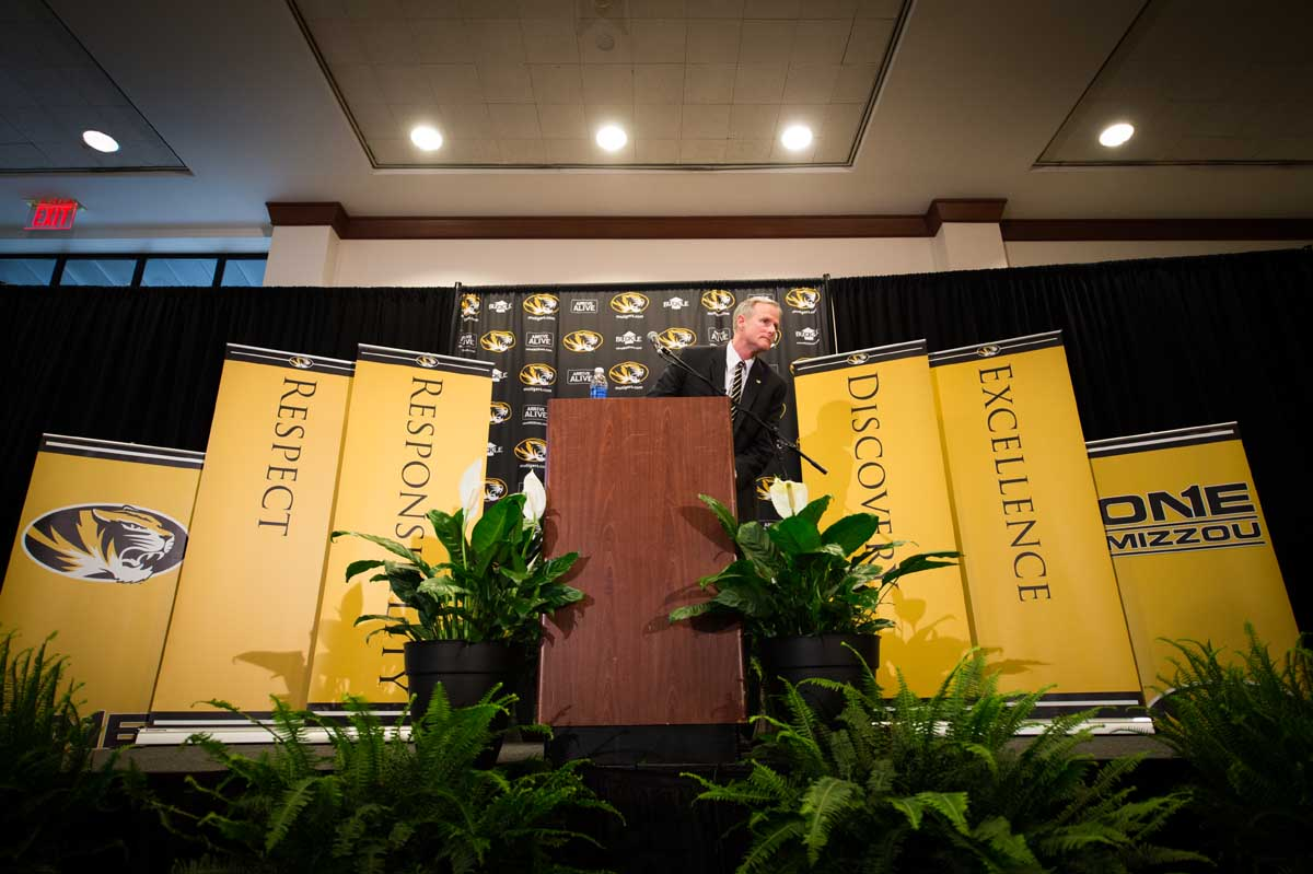 Kim Anderson. New basketball coach at Mizzou. Mike Alden.