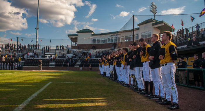Mizzou baseball team.