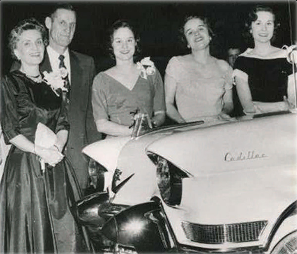 Faurot Family with Cadillac