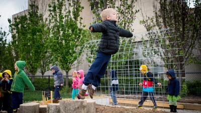 Childrens Development Lab. Garden Dedication.