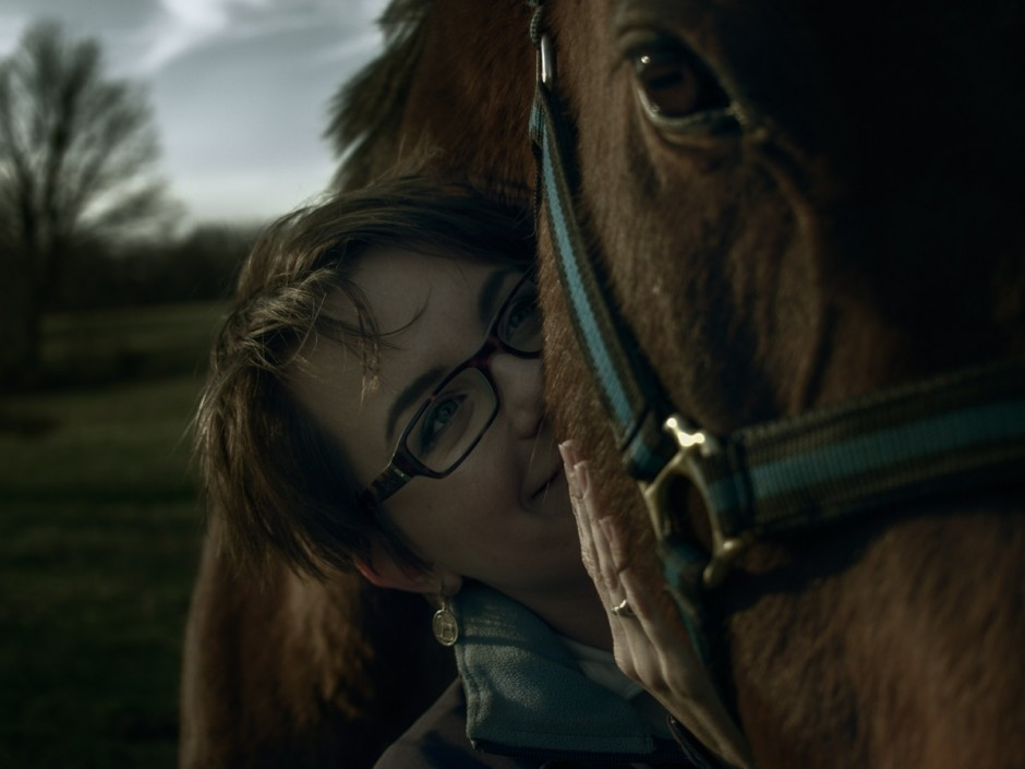 Claire Adams and Nick's Fury the Thoroughbred Horse