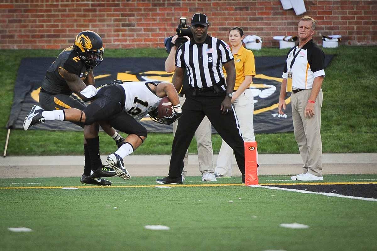 Vanderbilt scores their second touchdown of the game in the fourth quarter.