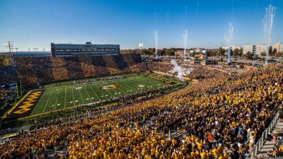 Missouri Football vs. Vanderbilt - October 25, 2014Photo by: Clayton Hotze