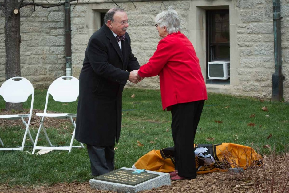 Chancellor Loftin and Alice Havard