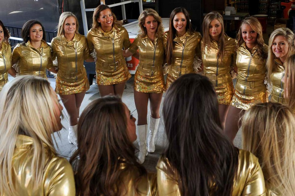 Golden Girls dance squad