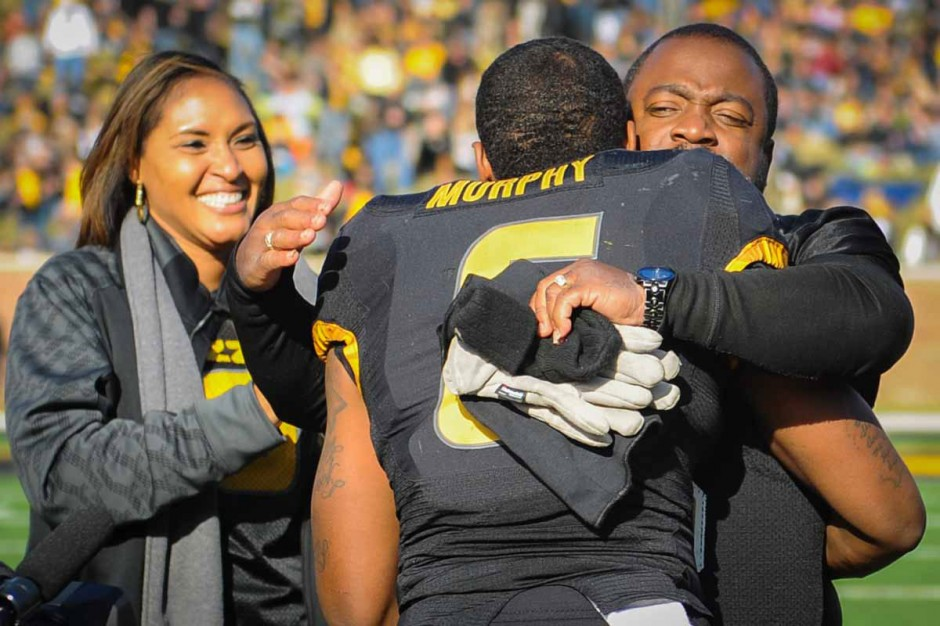 Marcus Murphy and family.