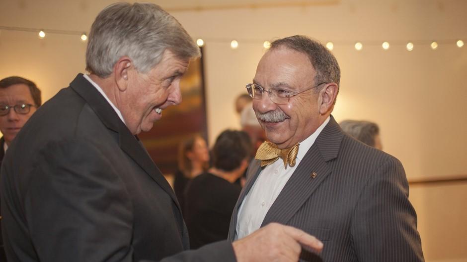 State Sen. Mike Parson and R. Bowen Loftin