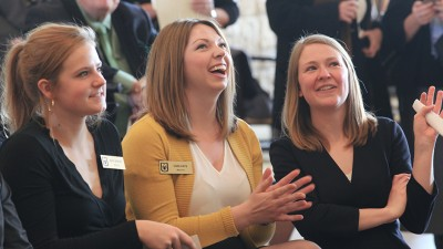 Mara Worley, Cara Hays and Erin Ehlers