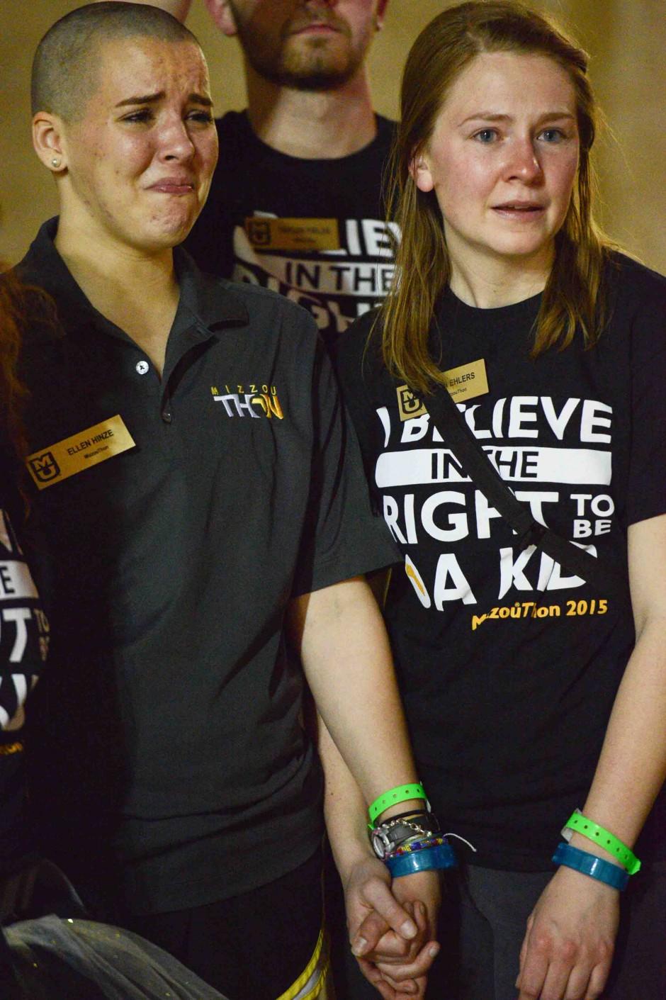 Ellen Hinze and Erin Ehlers