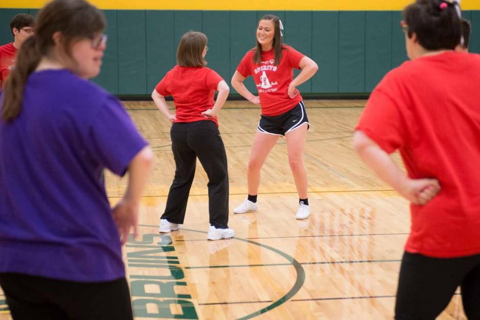 Kelsey Boschert. Special Olympics.