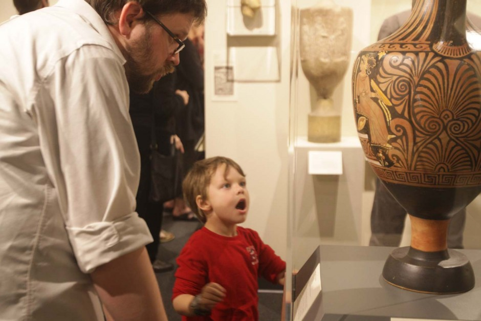 mizzou news; museum of art and archeology; reopening; mizzou north; fitz daly (kid) & kyle lestina
