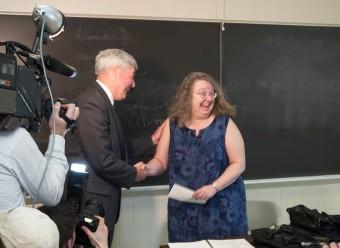 Jim Schatz and Suzanne Burgoyne