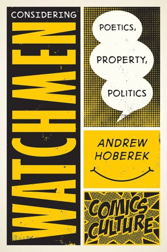 Considering Watchmen book cover.