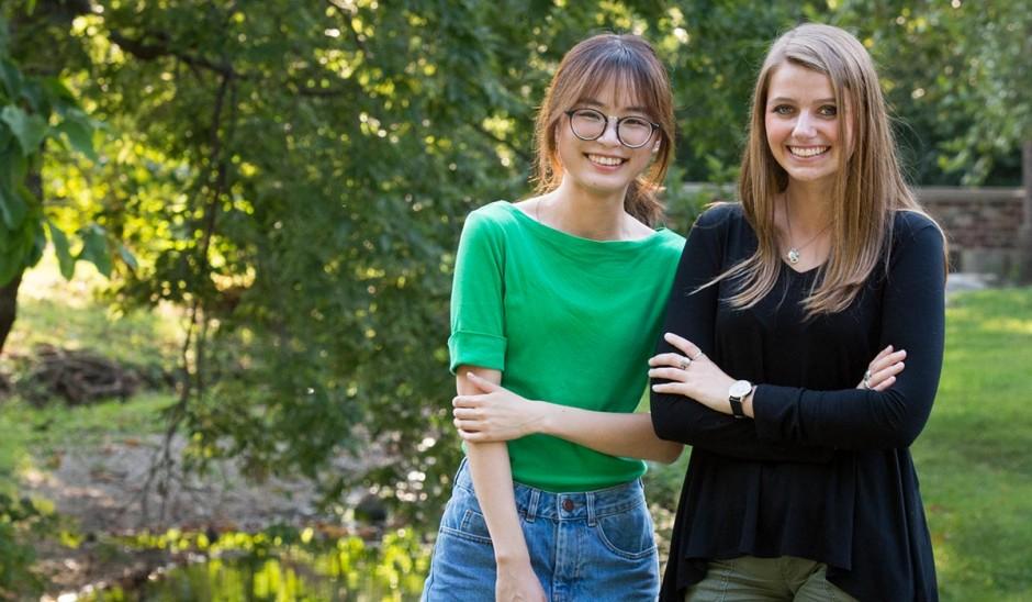 Meiqi Yuan and Sera Holland.