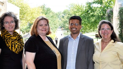 Four faculty members.