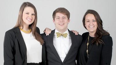Three directors of Homecoming 2015.