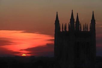 memorial-sunset