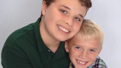 Blake and Jackson Hinkel
