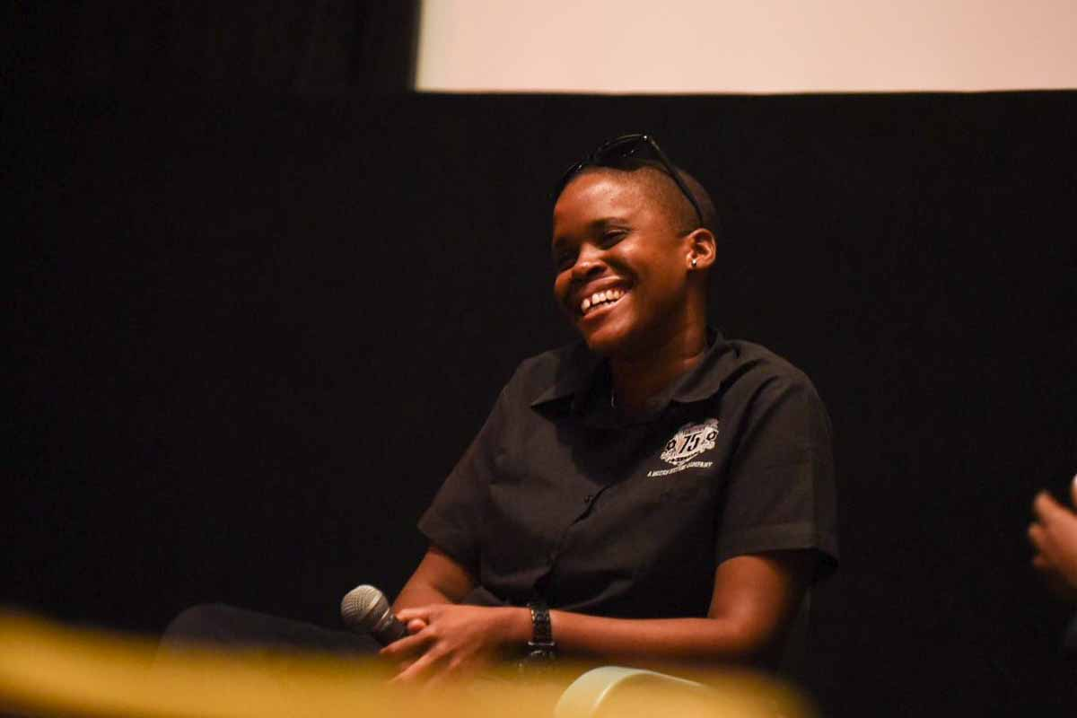 Screening and discussion with director Allison Harrison. Proscenium is a short film, set in the historic Ward Theatre, one of Jamaica's most iconic cultural landmarks, long abandoned in downtown Kingston. Photo by Morgan Lieberman.