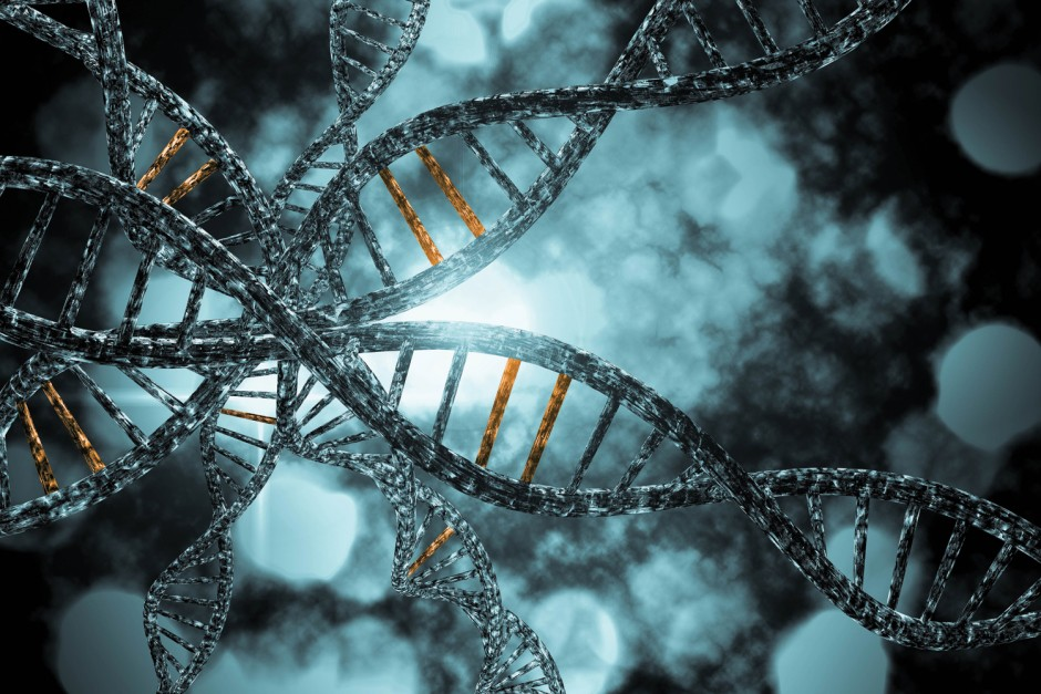 DNA closeup