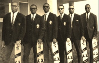 The founding members of the Zeta chapter of Alpha Phi Alpha.