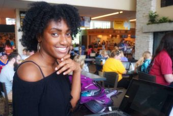 Brianna Coleman, health sciences major.