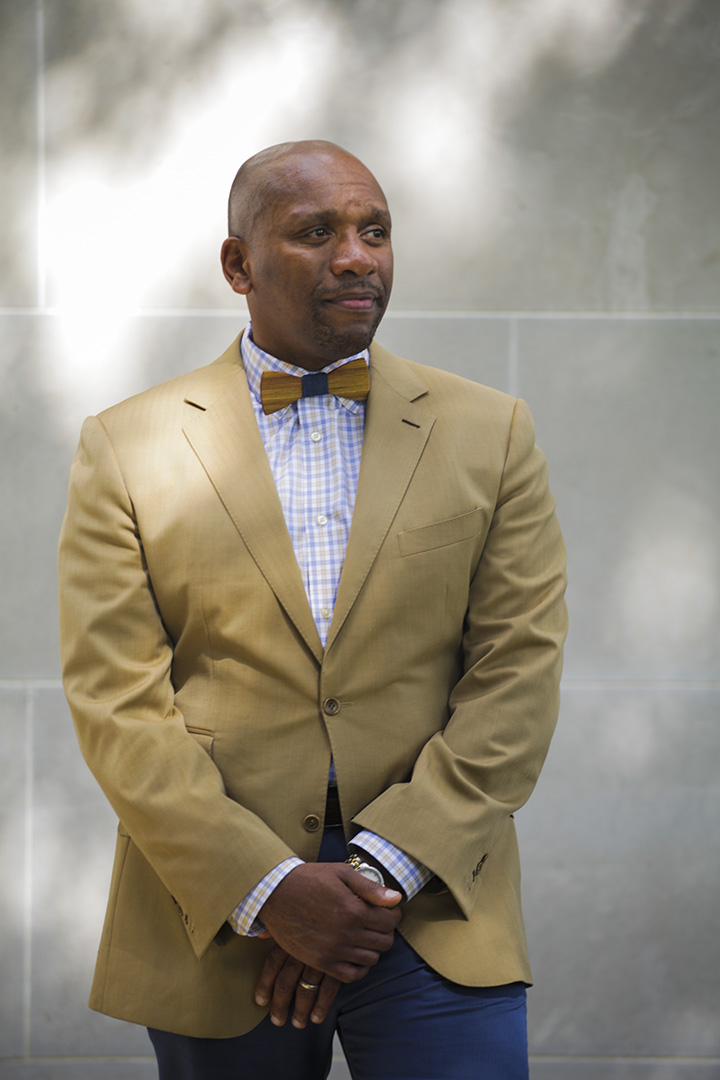 Kevin McDonald, UM System Chief Diversity officer and Interim MU Vice Chancellor of Diversity, poses for a portrait.