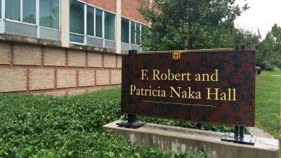 naka-hall-sign