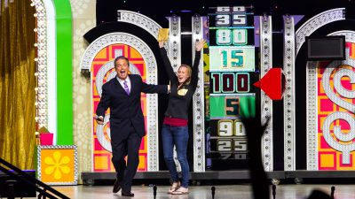 Price Is Right big wheel.