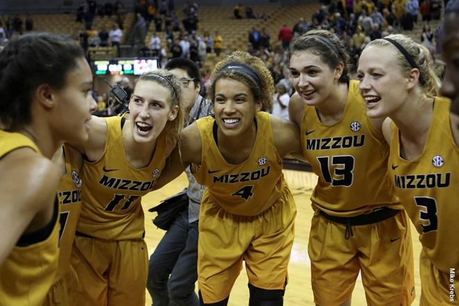 Five Mizzou basketball players