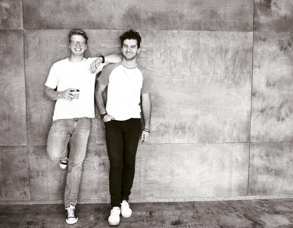 Blaine Thomas and Drew Rogers