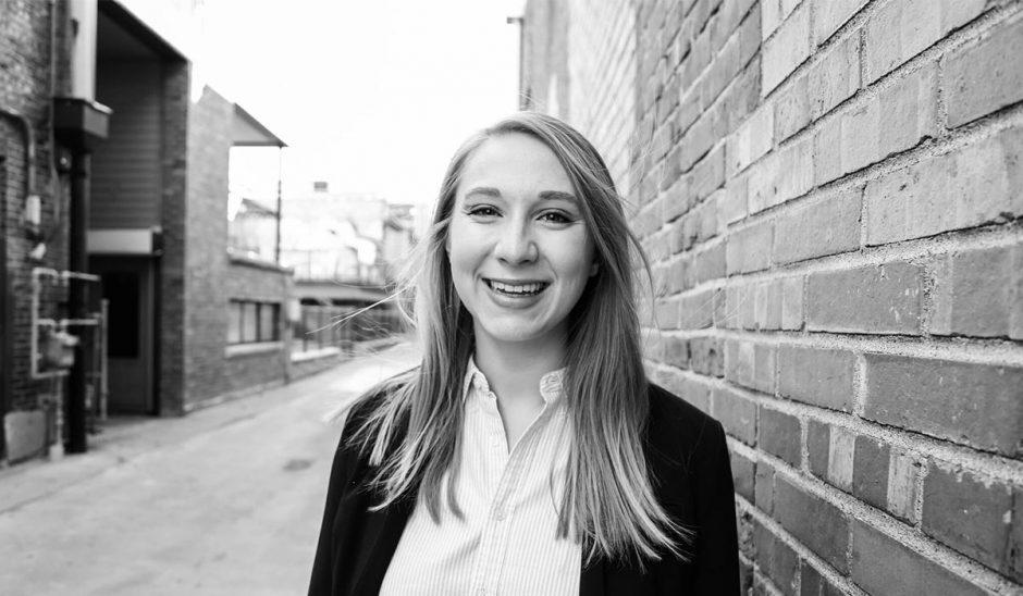 Natalie Butler, junior in political science and psychology