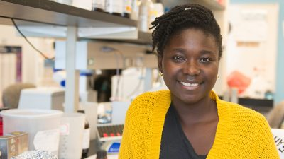 Emilia Asante, doctoral candidate in biological sciences