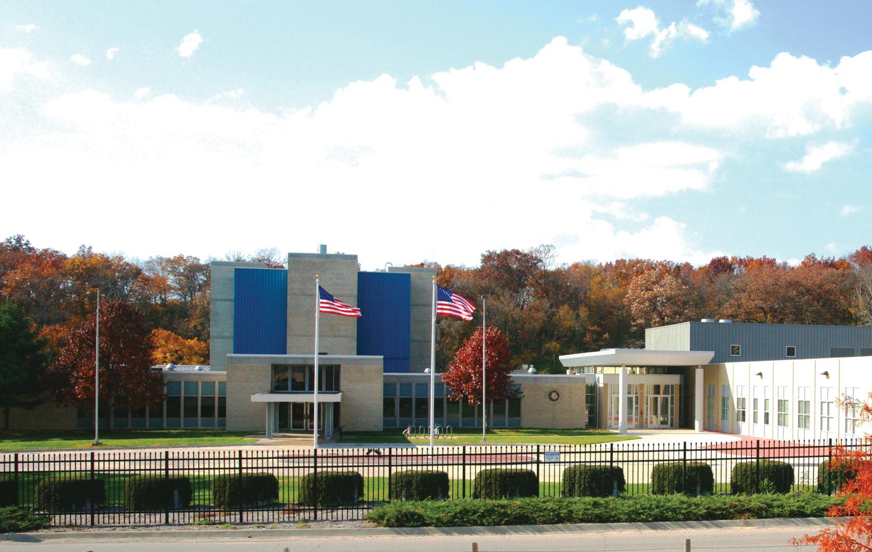 research reactor exterior