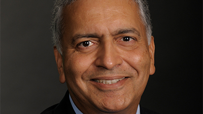 This is a picture of Ajay Vinze, dean of the Trulaske College of Business.