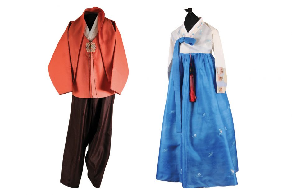 Korean hanboks