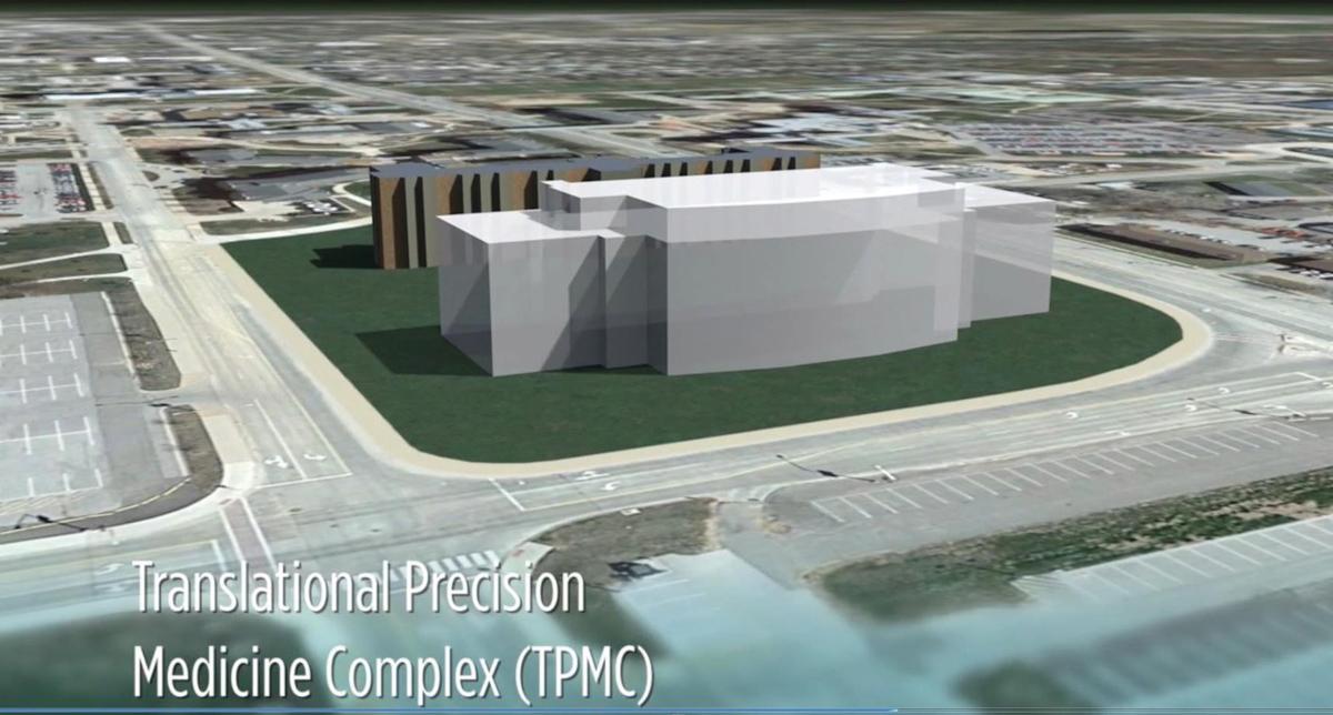 medical building rendering