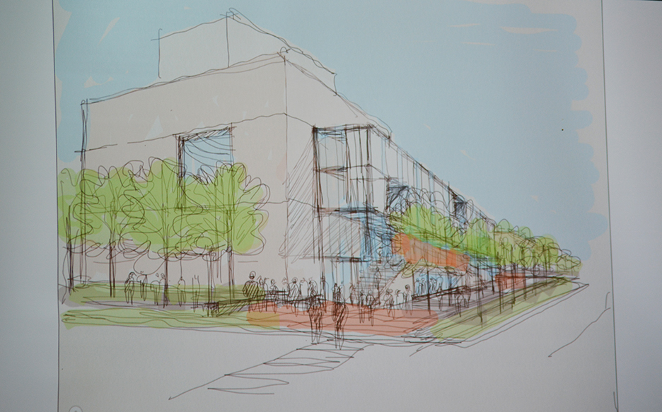 MU School of Music artist rendering