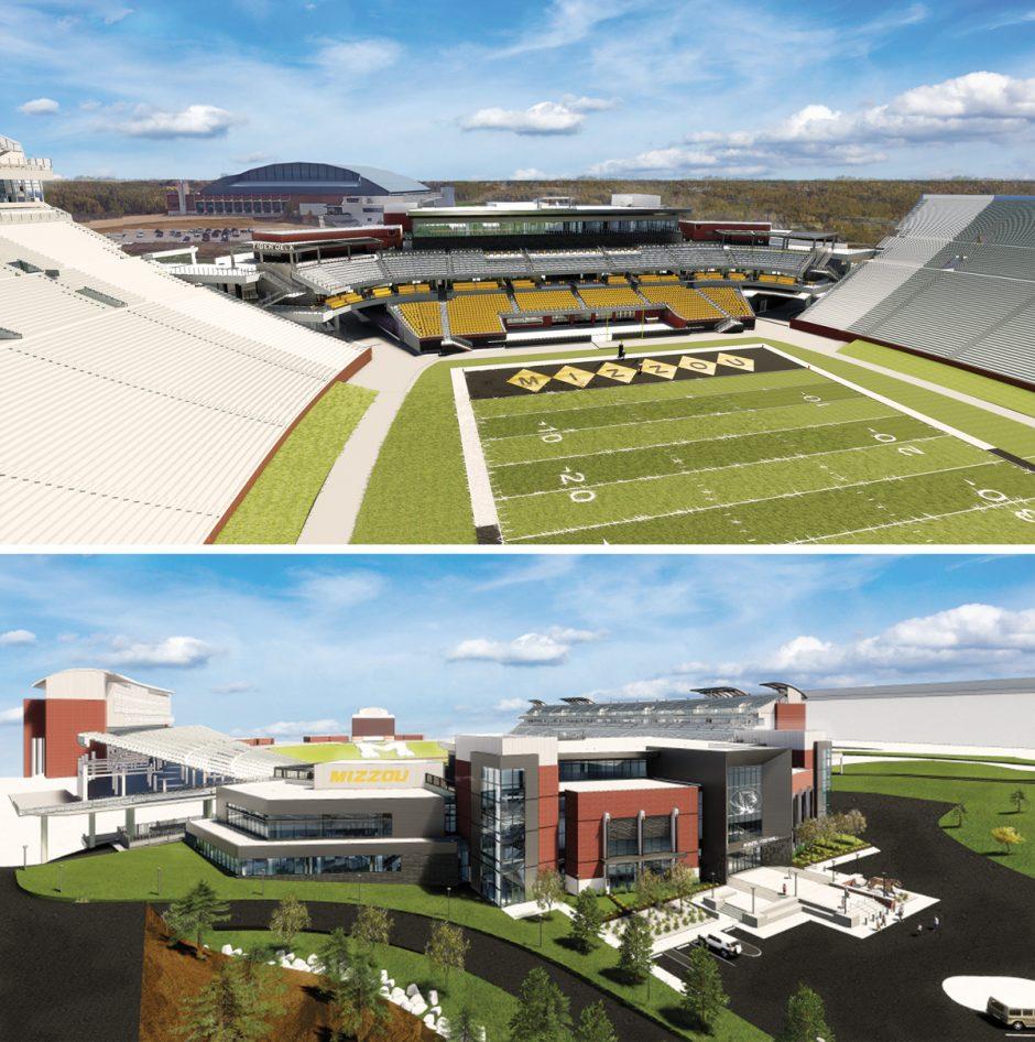 football stadium rendering