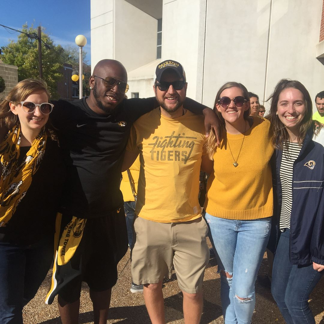 Picture of Day Dreams Foundation board members having fun before a Mizzou football game.