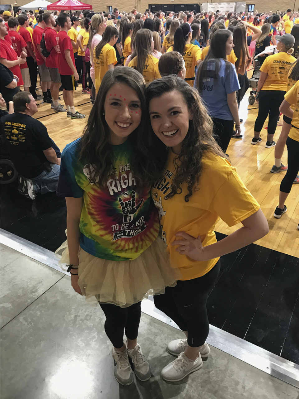 Lawson and fellow junior Emma Berry, of O'Fallon, Missouri, are volunteers for MizzouThon. Lawson also helps coordinate Mini MizzouThon, a version of the fundraiser for local high school students.
